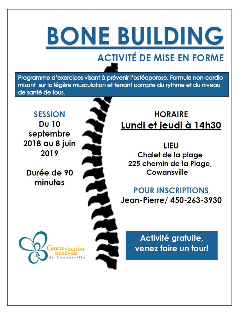 Bone building 2018-2019